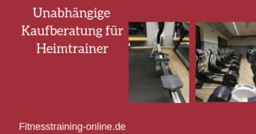 heimtrainer test bild